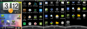 CM7.2 Android 2.3.7 HTC-IDEOS for HUAWEI U8150