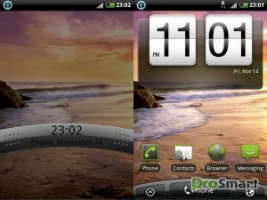 CM7.2 Android 2.3.7 StornMix 3.0.0 HTC Spirit for SE X8i