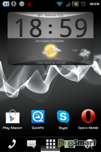 aShell Launcher Homescreen Deluxe 1.3.5