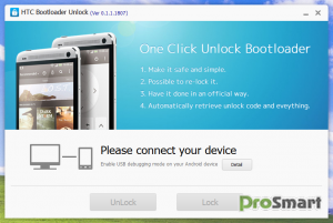 Kingo HTC Bootloader Unlock 0.2.0.1819