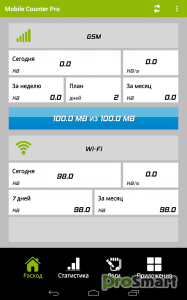 Mobile Counter Pro - 3G, WIFI 5.3 build 159 [Patched]