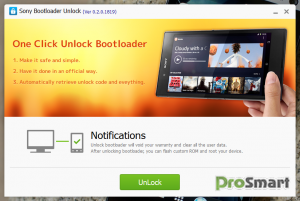 Kingo SONY Bootloader Unlock 0.2.0.1819