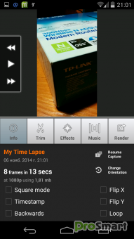 Lapse™ Time PACK for Android