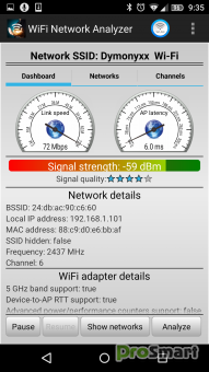 WiFi Analyzer Professional 1.7.2