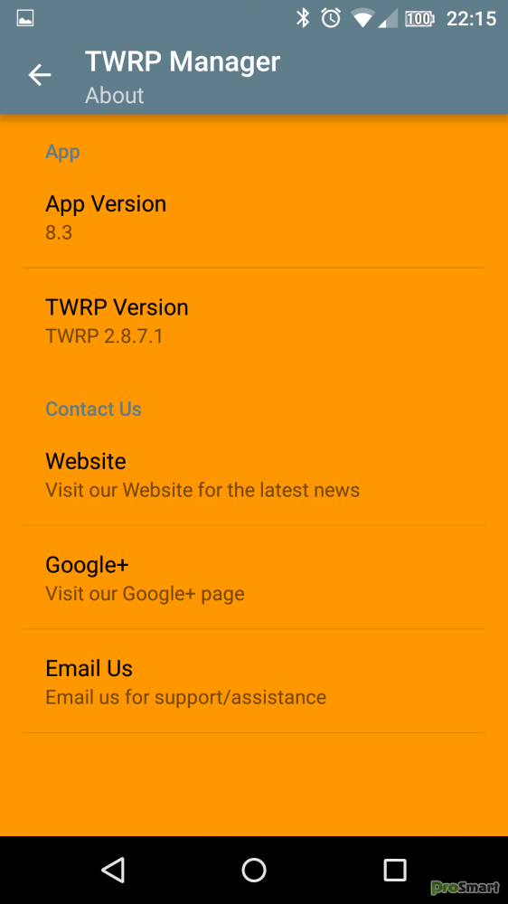 TWRP Manager (Requires ROOT) 9 8 Unlocked » PS Мир смартфонов