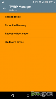 TWRP Manager (Requires ROOT) 9.5 [Unlocked]