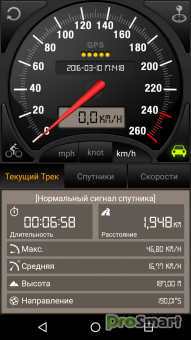 Speedometer GPS Professional 4.009 [Patched]