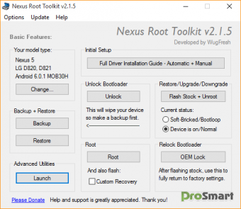 Nexus Root Toolkit 2.1.9 / Bacon Root Toolkit 1.0.3