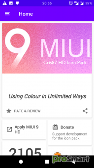 MIUI 9 HD - ICON PACK [Patched]