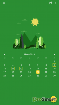 Calendar 2018 - Diary, Holidays and Reminders PRO 1.0.84