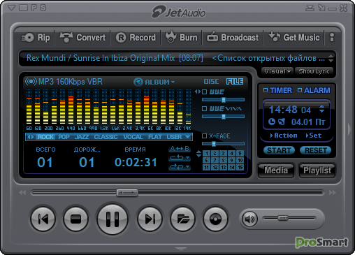 JetAudio HD Music Player Plus 9 11 Patched+Mod » PS Мир