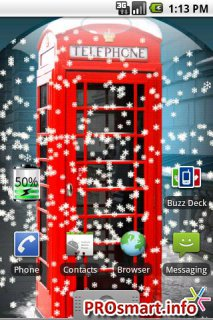 UK Snow Globe Live Wallpaper 1.0