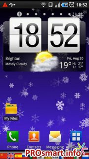 Snowflakes Live Wallpaper 1.4