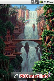 8-Bit Waterfall Live Wallpaper 1.2