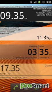 Advanced Clock Widget Pro 0.761