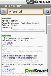 Fora Dictionary 10.1