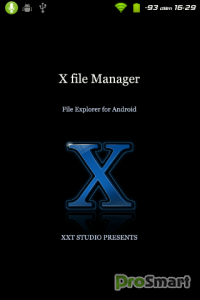 X file Manager 2.5