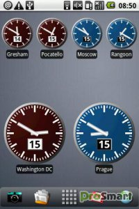 Digital World Clock Widget 2.2.0